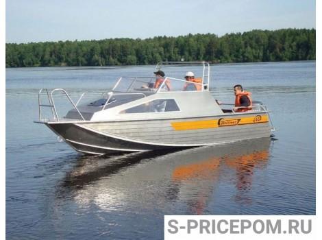 Алюминиевая лодка Wellboat-63