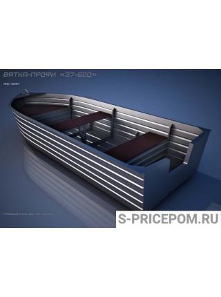 Алюминиевая лодка Вятка-Профи 37-6