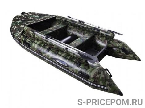 Надувная лодка ПВХ Gladiator Active С370AL FB