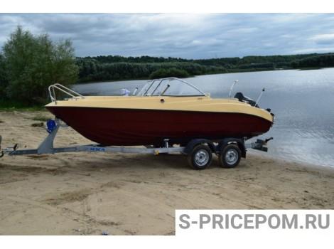 Стеклопластиковая лодка СТЕЛС 545 (Гарпун)