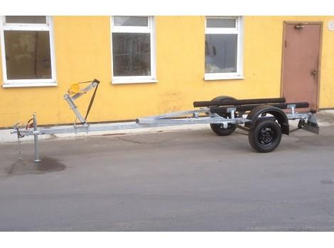 Автомобильный прицеп AvtoS В50М1В (рессоры Газель)