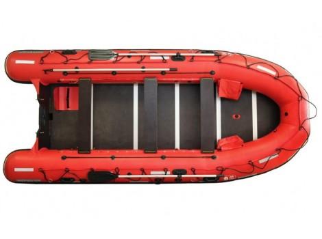 Надувная лодка ПВХ НПО Наши лодки Витязь 470 Шлюп дежурный
