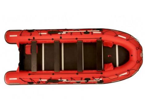 Надувная лодка ПВХ НПО Наши лодки Витязь 510 Шлюп дежурный