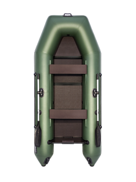 Надувная лодка ПВХ АКВА 3200 Слань-книжка