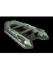 Надувная лодка АКВА 2900 Слань-книжка киль