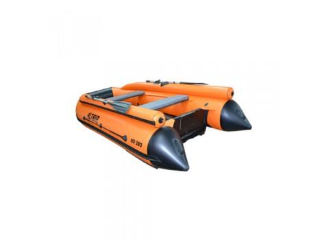 Надувная лодка ПВХ Альтаир (ALTAIR) HD 380 ФБ НДНД с фальшбортом