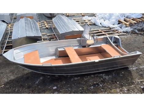Алюминиевый катер ВИЗА Алюмакс-415 Консоль