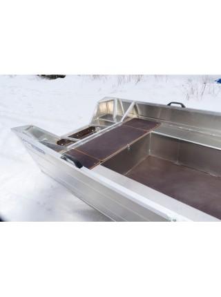 Алюминиевый катер ВИЗА Алюмакс-415