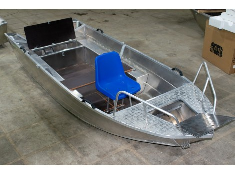 Алюминиевый катер ВИЗА Алюмакс-415 Р