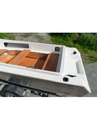 Алюминиевый катер ВИЗА Алюмакс-435 Комбинированный