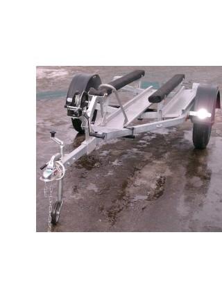 Автомобильный прицеп 829440 Трейлер Дельфин  3,9 рж