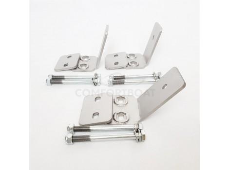 Кронштейны для установки стационарных строп на прицеп