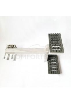 Подножка-ступень для лодочного прицепа двойная
