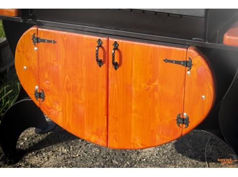 Дверцы для мангала КМ-8