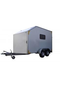 "Прицеп-фургон двухосный для мототехники ИСТОК 3793М2  ""Автодом-Мото О2"""