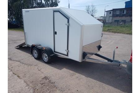 Двухосный прицеп-фургон для перевозки мототехники, ИСТОК 3792М4 «Автодом Мото-2»