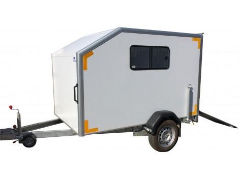 """Прицеп-фургон для мототехники ИСТОК 3791М2 """"Автодом-Мото"""""""
