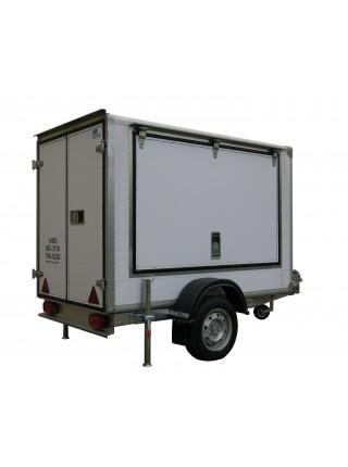 Прицеп-фургон легковой для бизнеса ИСТОК 3791А2 ФЕРМЕР