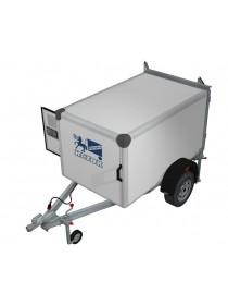 Прицеп-фургон легковой для перевозки собак ИСТОК 3791М1 КИНОЛОГ (1 отсек)