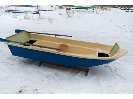 Стеклопластиковая лодка Легант-345 с Рундуками