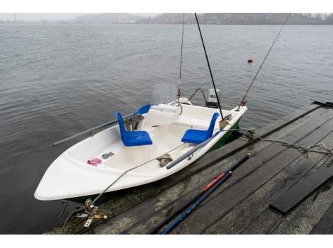 Стеклопластиковая лодка Легант-427 Консоль