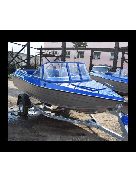 Алюминиевая лодка Heман-450