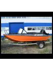 Алюминиевая лодка Heман-450DC