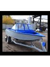 Алюминиевая лодка Heман-450DC NEW