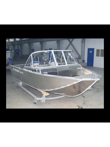 Алюминиевая лодка Heман-450DC NEW БЕЗ ПОКРАСКИ