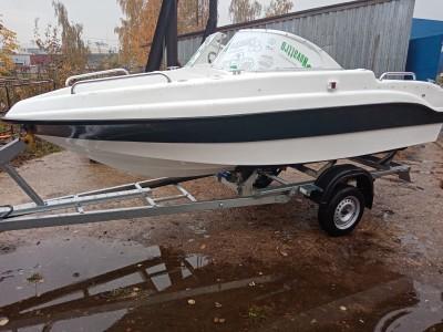 <Поступление комбинированной лодки NEMAN 450 OPEN