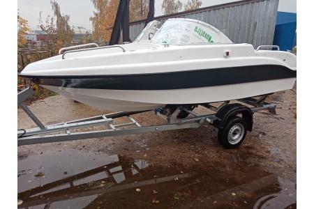 Поступление комбинированной лодки NEMAN 450 OPEN