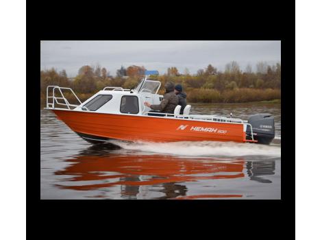 Алюминиевая лодка Heман-500 КАЮТНЫЙ
