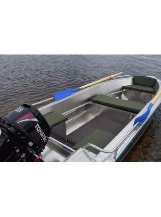 Алюминиевая лодка NewStyle-390 next