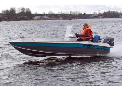 Алюминиевая лодка NewStyle-431 консоль