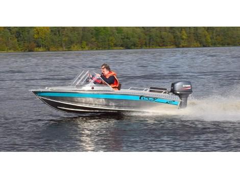 Алюминиевая лодка NewStyle - 433 классика