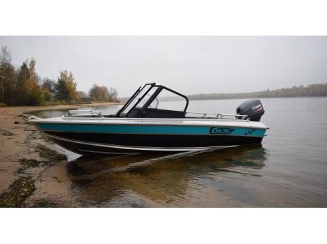 Алюминиевая лодка NewStyle-434 двухконсольная