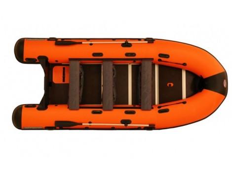 Надувная лодка ПВХ НПО Наши лодки Витязь 430