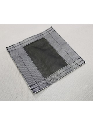 Накладка на вентиляционное окно из москитной сетки