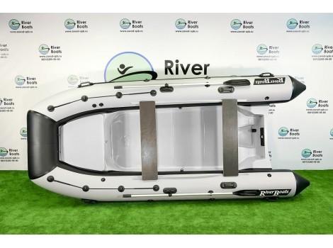 Лодка РИБ Ривербот (RiverBoats) RB-430 рундук транец S
