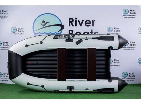 Надувная лодка ПВХ Ривербот (RiverBoats) RB-330 НДНД