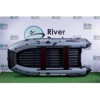 Надувная лодка ПВХ Ривербот (RiverBoats) RB-370 НДНД