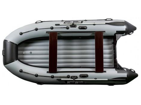 Надувная лодка ПВХ Ривербот (RiverBoats) RB-390 НДНД