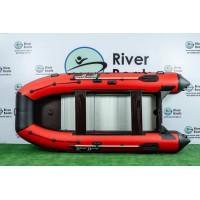 Надувная лодка ПВХ Ривербот (RiverBoats) RB-370 алюминиевый пол