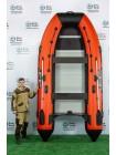 Надувная лодка ПВХ Ривербот (RiverBoats) RB-390 алюминиевый пол