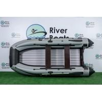 Надувная лодка ПВХ Ривербот (RiverBoats) RB-390 НДНД фальшборт