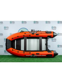 Надувная лодка ПВХ Ривербот (RiverBoats) RB-430 алюминиевый пол