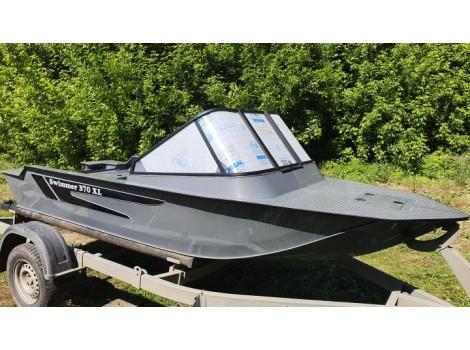 Моторная лодка ПНД Свиммер (Swimmer)-370 XL с консолью