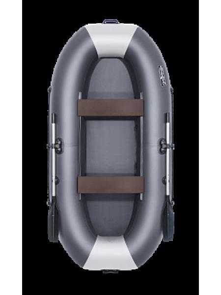 Надувная лодка ПВХ Таймень LX 290 Графит/светло-серый
