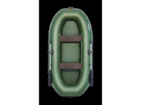 Надувная лодка ПВХ Таймень LX 290 зеленый