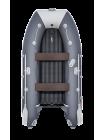 Надувная лодка ПВХ Таймень lx 3200 НДНД Графит/светло-серый